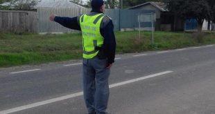 Un tânăr inconștient din Vaslui, prins de polițiștii de frontieră la volanul unei mașini, deși nu deținea permis de conducerea