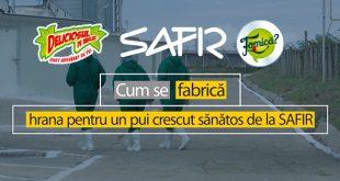 (P) Cum se fabrică produsele din carne de pasăre marca Safir?