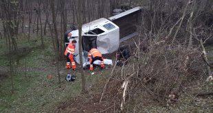 Mașină răsturnată la Ciocani! Șoferul a fost găsit decedat!