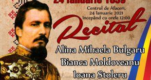 Celebrarea a 162 de ani de la înfăptuirea Unirii Principatelor Române, în cadru restrâns