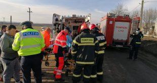 Accident grav la Murgeni: Trei persoane au ajuns la spital!