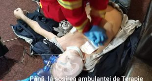 Un barladean a fost salvat de paramedicii de SMURD Bârlad