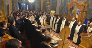 Parastas la Catedrala Episcopală din Huși pentru Episcopul Grigorie Leu