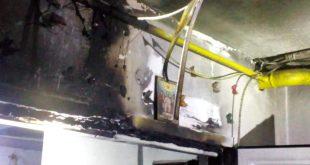 Incendiu într-o scară de bloc la Bârlad: 6 persoane au fost evacuate!
