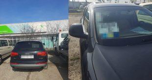 Autovehicul căutat de autoritățile spaniole, descoperit la Albița