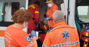Un bărbat din Puiești a aruncat benzină peste soția sa și apoi i-a dat foc